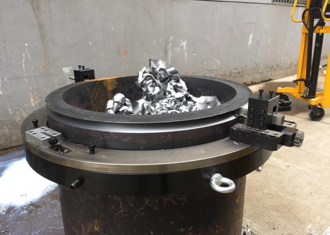Air-operated Cold Pipe Cutting And Bevelling Machine Steel Material