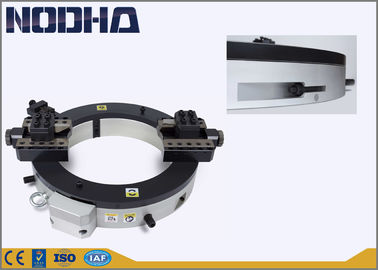 China Nodha Aluminum Pneumatic Pipe Cutter , Cold Pipe Cutting With Air Motor factory