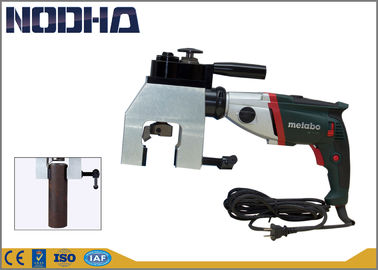 China Adjustable Speed Pipe Chamfering Machine 42-76MM Working Range factory