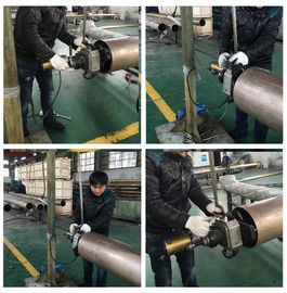 China Straight Type Electric Pipe Beveling Machine Clamping Range ID 80 - 240mm factory